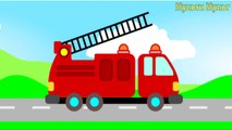 Cars Transportation sounds - names and sounds of vehicles Learning videos