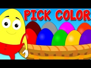 crazy eggs | surprise eggs | colors song | learn colors | nursery rhymes