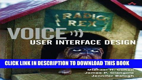 Best Seller Voice User Interface Design Free Read