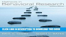 [PDF] Methods in Behavioral Research Popular Online