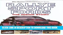 Best Seller Rallye Sport Fords: The inside story Free Download