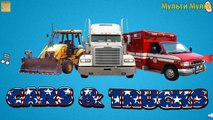 Cars and Trucks - Real sounds! - Transportation sounds - names and sounds of vehicles