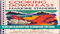 Ebook Cooking Down East: Favorite New England Recipes Free Read