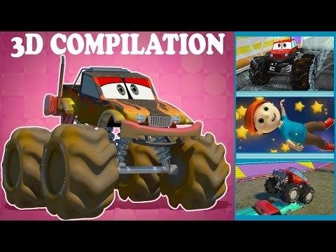 monster trucks | kids videos | trucks for kid