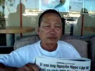 Nguyễn Ngọc Lập trình bày vụ bị đuổi khỏi đại nhạc hội Tạ Ơn Anh
