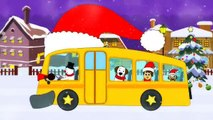 Wheels On The Bus | Christmas Special | Jingle Bells | Nursery Rhymes For Toddlers and Babies