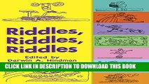 Ebook Riddles, Riddles, Riddles (Dover Children s Activity Books) Free Read