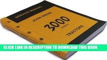 [PDF] Mobi John Deere 3000 Series 3020 3010 Tractors Technical Service Manual New Print 788 Pages