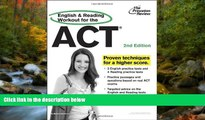 FAVORIT BOOK English and Reading Workout for the ACT, 2nd Edition (College Test Preparation) READ