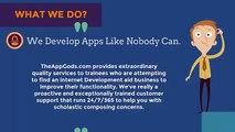 Html5 Mobile Platform App Development