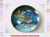 Warner Brothers Bugs Bunny What's Up Santa? Christmas Collector Plate