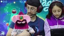 Lets CUT THE ROPE w MAGIC & JUMP with our EYES! Shawns First Gameplay FGTEEV Parents & Kids Fun