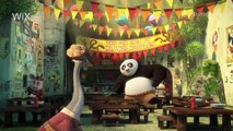 Wix.com Official Big Game Ad - Kung Fu Panda Discovers the Power of Wix - 2016 #StartStunning