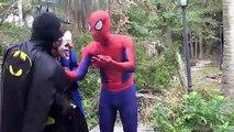 32 Frozen Elsa POOL SURPRISE w Spiderman Pranks Frozen Elsa Swimming Pool Funny Superhero Video 4K