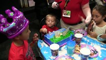 Chase's 3rd Birthday Party @ Chuck E. Cheese w_ HUGE Present!