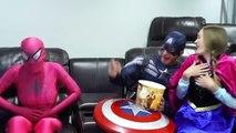 Spiderman vs Venom In Real Life Superhero Movie Spiderman goes black spiderman Pink SPIDERGIRL
