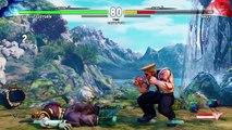 LetsPlay: STREET FIGHTER V Survival Mode Guile Playthrough (Easy)