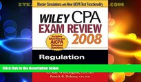 Buy NOW  Wiley CPA Exam Review 2008: Regulation (Wiley CPA Examination Review: Regulation)  READ
