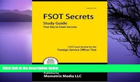 Big Deals  FSOT Secrets Study Guide: FSOT Exam Review for the Foreign Service Officer Test