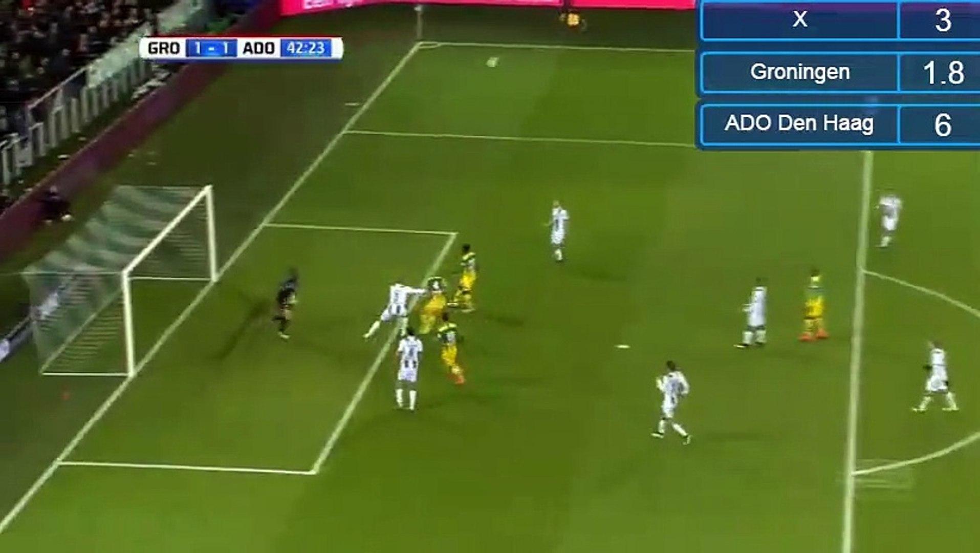 Edouard Duplan Goal Hd Groningen 1 1 Ado Den Haag 19 11 2016 Hd Video Dailymotion