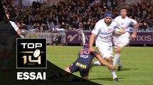 TOP 14 ‐ Essai François VAN DER MERWE (R92) – Racing 92-Grenoble – J12 – Saison 2016/2017