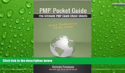 Full Online [PDF]  PMP Pocket Guide: The Ultimate PMP Exam Cheat Sheets by Belinda Fremouw