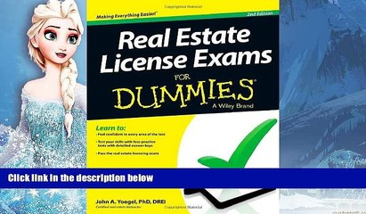 Deals in Books  Real Estate License Exams For Dummies  BOOK ONLINE