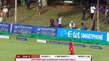 West Indies v Zimbabwe last over
