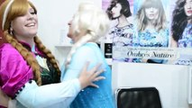Frozen Anna Loses Her Hair! w/ Elsa, Spiderman vs Maleficent & Joker Superheroes Movie In Real Life