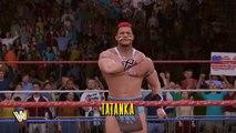 WWE 2K17 Legends DLC: Tatanka Entrance, Signatures & Finishers! #WWE2K17DLC