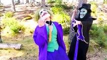 Spiderman Vs Joker Harley Quinn - Suicide Squad Superheroes In Real Life