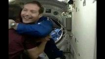 Les images de l'arrivée de Thomas Pesquet à bord de la Station spatiale internationale