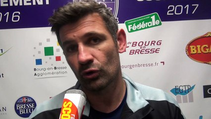 Rugby Fédérale 1 - Laurent Mignot après USB - provence Rugby
