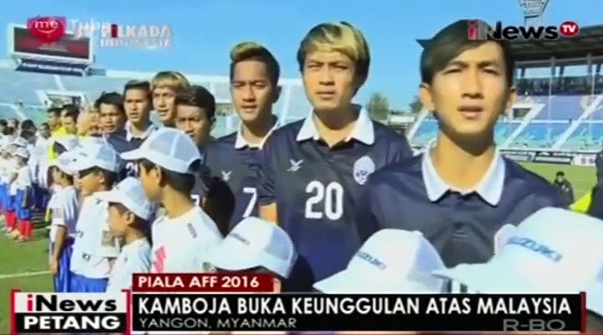 Tampil Impresif Malaysia Kalahkan Kamboja 3-2 di Laga Piala AFF 2016