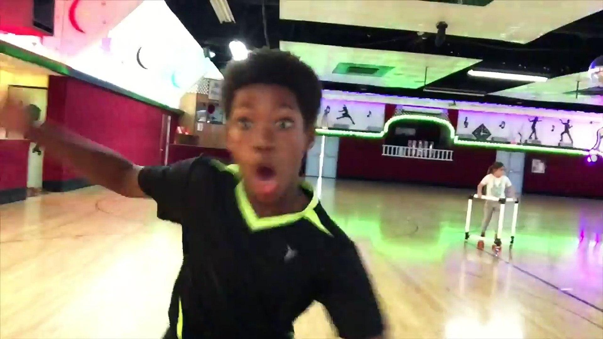 FUN WITH FRIENDS ~ Dance Music and Roller Skate ~ Fun Fun Fun!