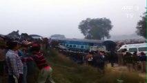 Une centaine de morts dans un déraillement de train en Inde