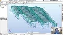 Interoperabilidad Robot Structural Analysis, Advance Steel y Revit en sus versiones 2017