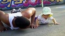 2016 bebekler komik videolar - Egzersiz bebekler gülüyor videoları - video