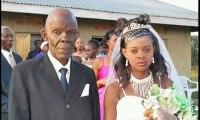 Une jeune fille de 17 ans se marie à un vieillard qui a un fils de 80 ans – Regardez.