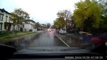 Accident caught on dash cam 10-29-15 in Grand Rapids