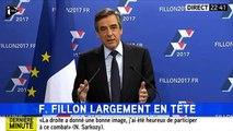 Primaire de la droite : le discours de François Fillon, vainqueur du 1er tour (i-Télé)