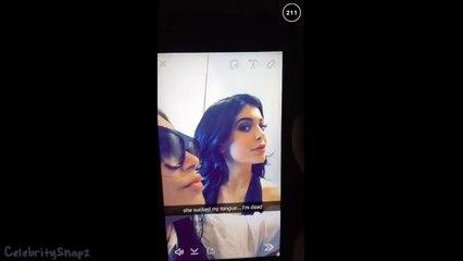 Kylie Jenner KISSES Kendall Jenners TONGUE (FULL VIDEO)