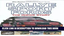 Best Seller Rallye Sport Fords: The inside story Free Read