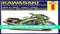 [PDF] Epub Haynes Kawasaki, ZX750 Ninjas ZX7 and ZXR 750 1989-1995 (Haynes Manuals) Full Download