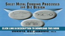 Download Sheet Metal Forming Processes and Die Design Free