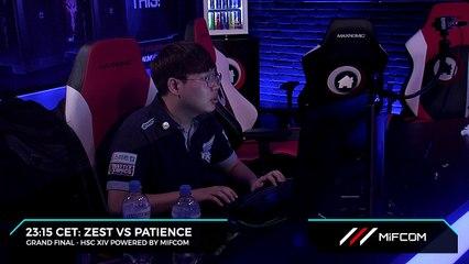 """Zest se """"prépare"""" avant sa finale - HSC XIV - StarCraft II"""