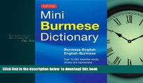 liberty book  Tuttle Mini Burmese Dictionary: Burmese-English / English-Burmese (Tuttle Mini