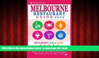 liberty books  Melbourne Restaurant Guide 2016: Best Rated Restaurants in Melbourne - 500