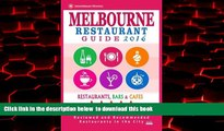 liberty book  Melbourne Restaurant Guide 2016: Best Rated Restaurants in Melbourne - 500