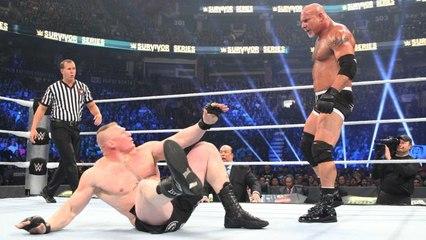 Goldberg vs Brock Lesnar - Full Match WWE Survivor Series 2016 HD
